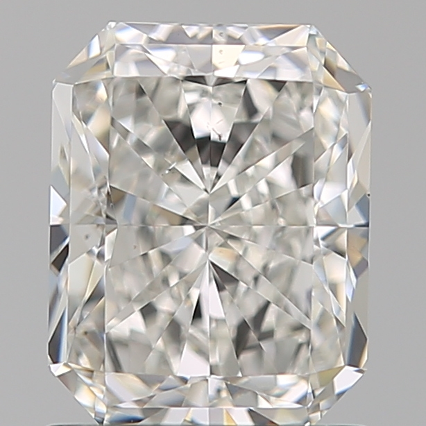 1.23 Carat Radiant Loose Diamond, G, VS2, Super Ideal, GIA Certified