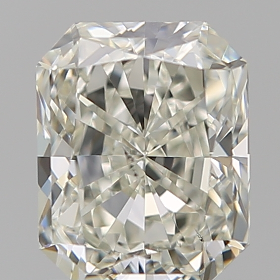 1.00 Carat Radiant Loose Diamond, K, SI1, Excellent, GIA Certified