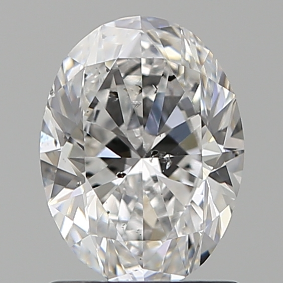 1.20 Carat Oval Loose Diamond, E, SI2, Ideal, GIA Certified