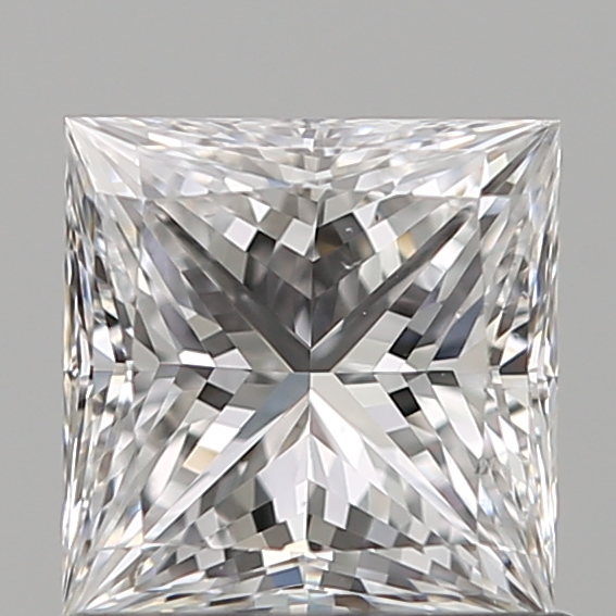 0.80 Carat Princess Loose Diamond, D, SI1, Super Ideal, GIA Certified