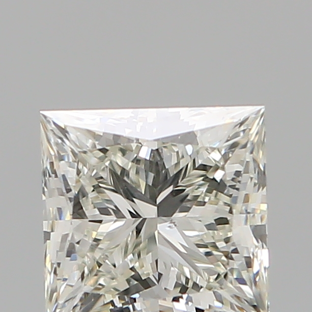 1.06 Carat Princess Loose Diamond, K, SI1, Ideal, GIA Certified