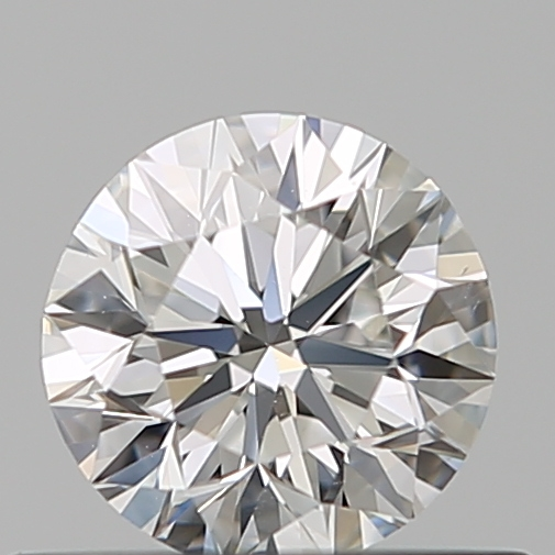 0.35 Carat Round Loose Diamond, F, IF, Super Ideal, GIA Certified