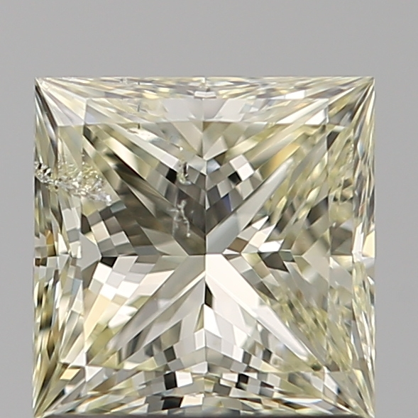 1.07 Carat Princess Loose Diamond, S-T, I1, Ideal, GIA Certified