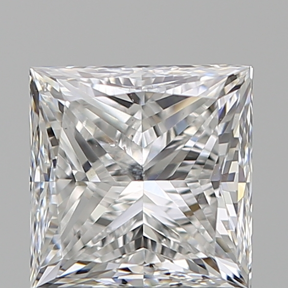 1.20 Carat Princess Loose Diamond, F, SI1, Ideal, GIA Certified | Thumbnail