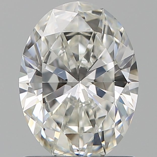 1.01 Carat Oval Loose Diamond, H, SI1, Super Ideal, GIA Certified