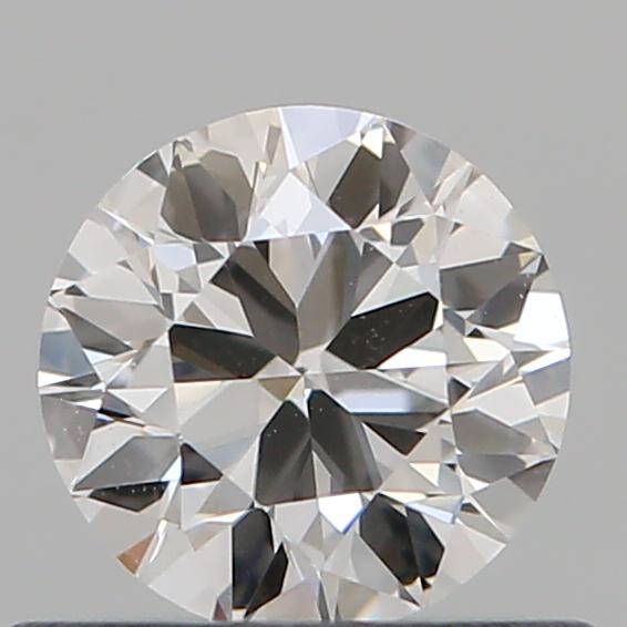 0.46 Carat Round Loose Diamond, F, VS1, Ideal, GIA Certified