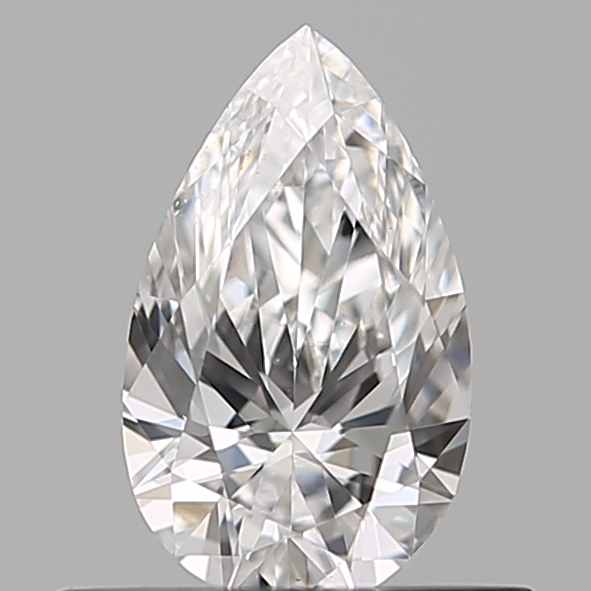 0.35 Carat Pear Loose Diamond, D, VS2, Ideal, GIA Certified