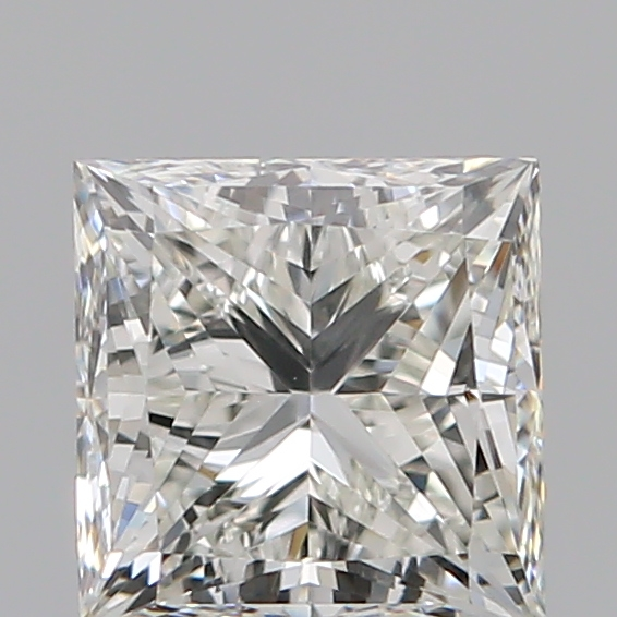 1.00 Carat Princess Loose Diamond, I, VS1, Ideal, GIA Certified
