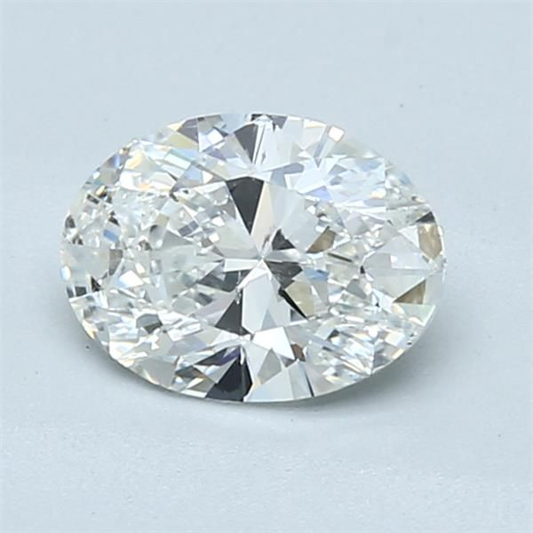 1.10 Carat Oval Loose Diamond, G, SI1, Super Ideal, GIA Certified