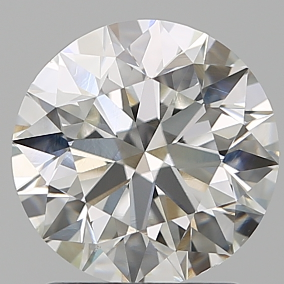 1.79 Carat Round Loose Diamond, H, VS1, Super Ideal, GIA Certified