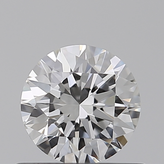 0.45 Carat Round Loose Diamond, F, IF, Super Ideal, GIA Certified