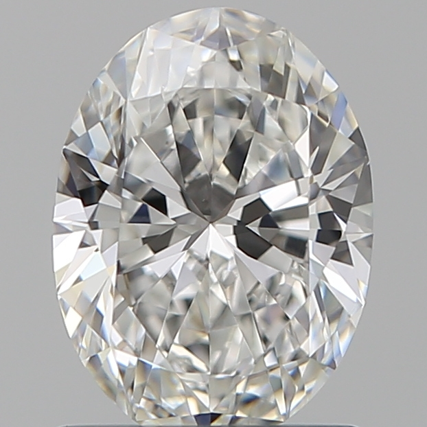 1.00 Carat Oval Loose Diamond, F, VS1, Super Ideal, GIA Certified