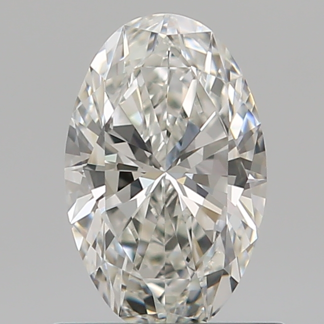 0.59 Carat Oval Loose Diamond, G, VVS1, Super Ideal, GIA Certified