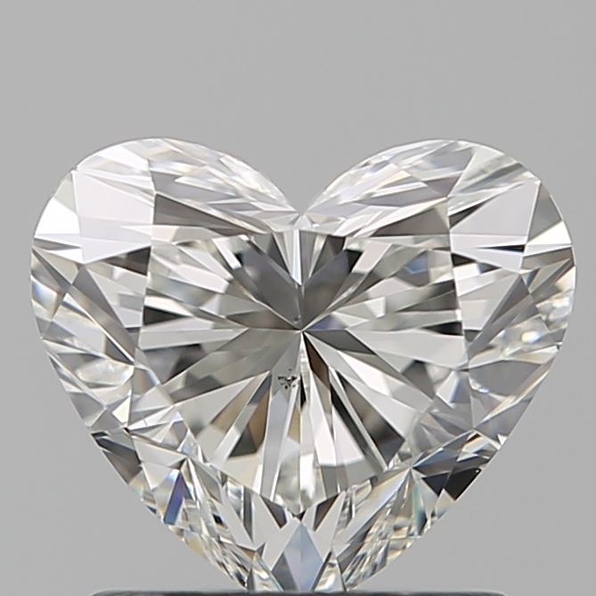 1.20 Carat Heart Loose Diamond, H, VS2, Super Ideal, GIA Certified | Thumbnail
