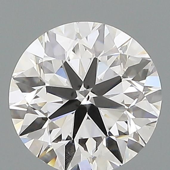 0.70 Carat Round Loose Diamond, F, VS2, Excellent, GIA Certified
