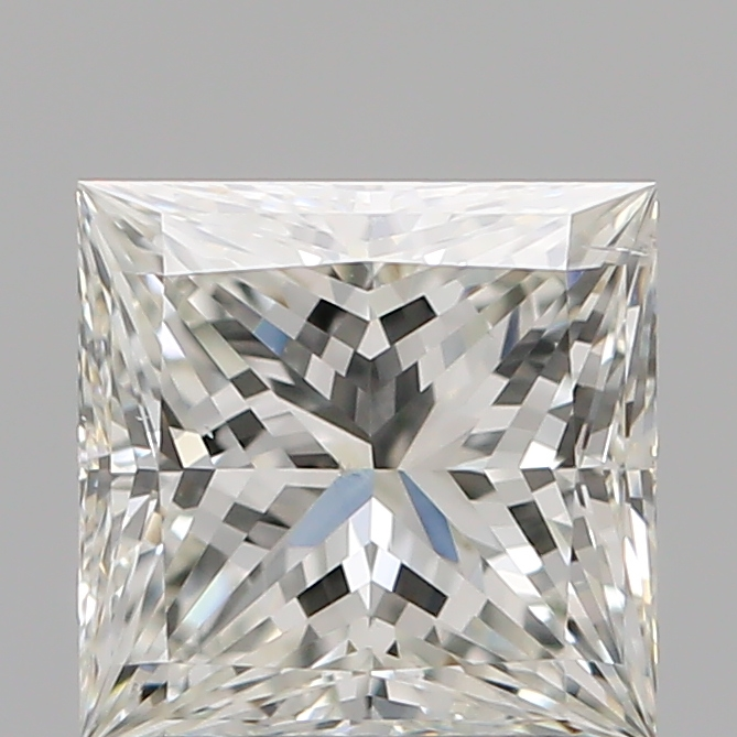 1.51 Carat Princess Loose Diamond, I, SI1, Super Ideal, GIA Certified
