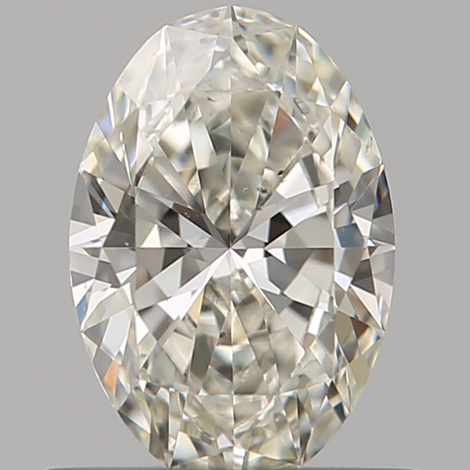 0.51 Carat Oval Loose Diamond, I, VS2, Super Ideal, GIA Certified | Thumbnail