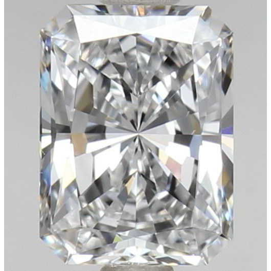 0.70 Carat Radiant Loose Diamond, D, VS1, Super Ideal, GIA Certified