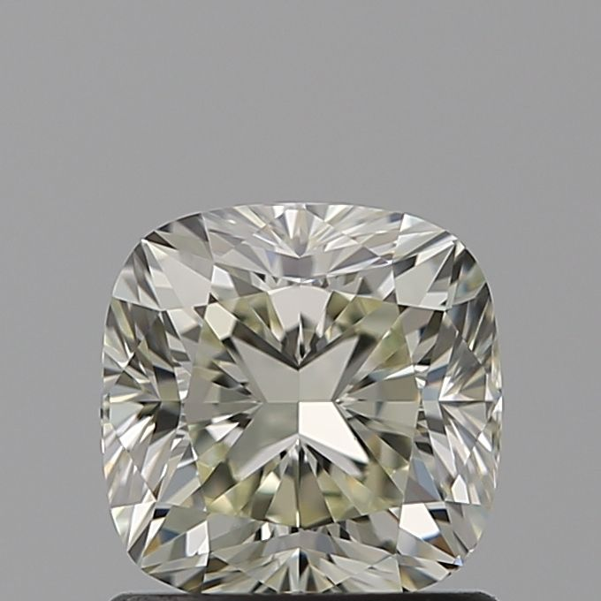 1.04 Carat Cushion Loose Diamond, N, VVS2, Excellent, GIA Certified
