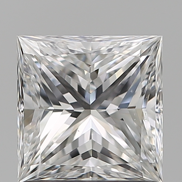 1.01 Carat Princess Loose Diamond, E, VS2, Super Ideal, GIA Certified