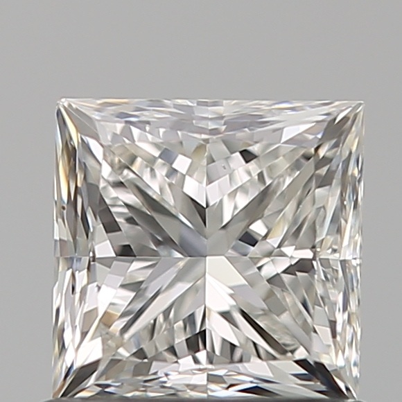 0.90 Carat Princess Loose Diamond, H, VS1, Ideal, GIA Certified