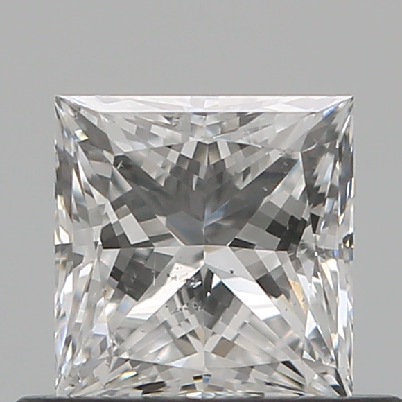 0.50 Carat Princess Loose Diamond, E, SI2, Excellent, GIA Certified