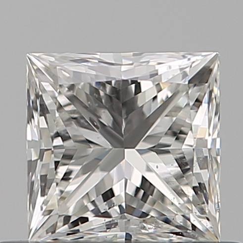 0.50 Carat Princess Loose Diamond, G, SI1, Ideal, GIA Certified