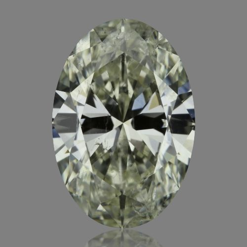 1.01 Carat Oval Loose Diamond, L, SI2, Super Ideal, GIA Certified
