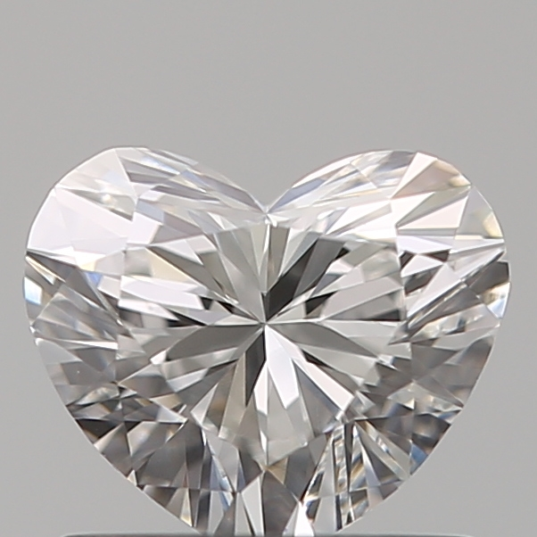 0.72 Carat Heart Loose Diamond, F, VS1, Ideal, GIA Certified | Thumbnail