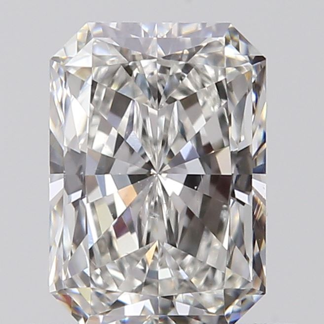0.56 Carat Radiant Loose Diamond, G, VS2, Super Ideal, GIA Certified