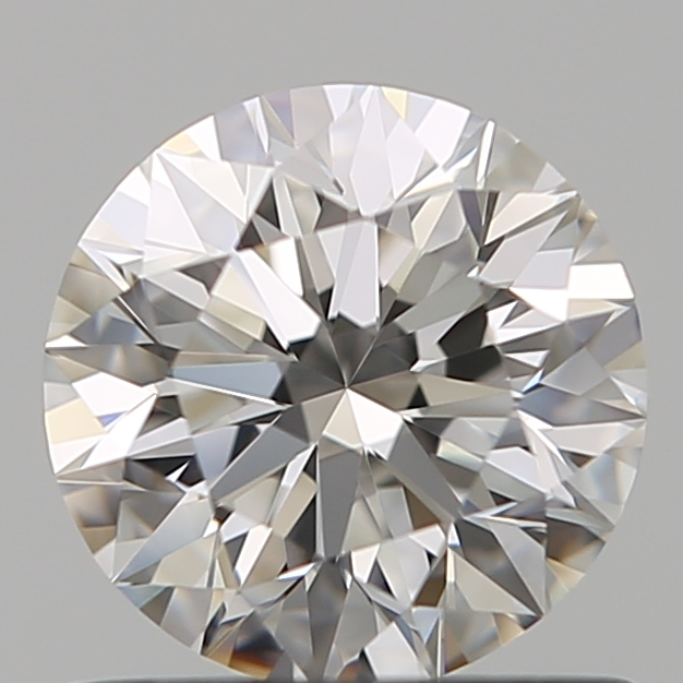0.72 Carat Round Loose Diamond, F, VVS1, Super Ideal, GIA Certified