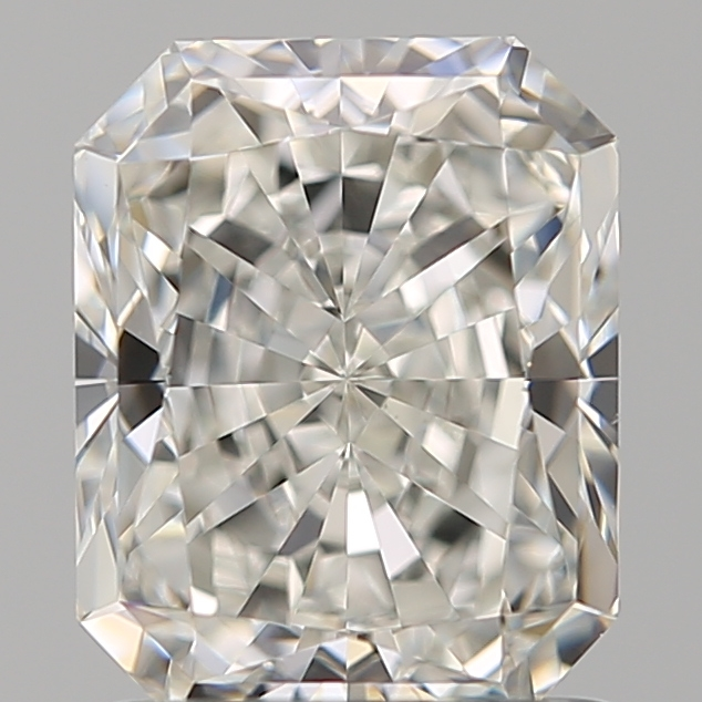 1.41 Carat Radiant Loose Diamond, H, VS1, Super Ideal, GIA Certified