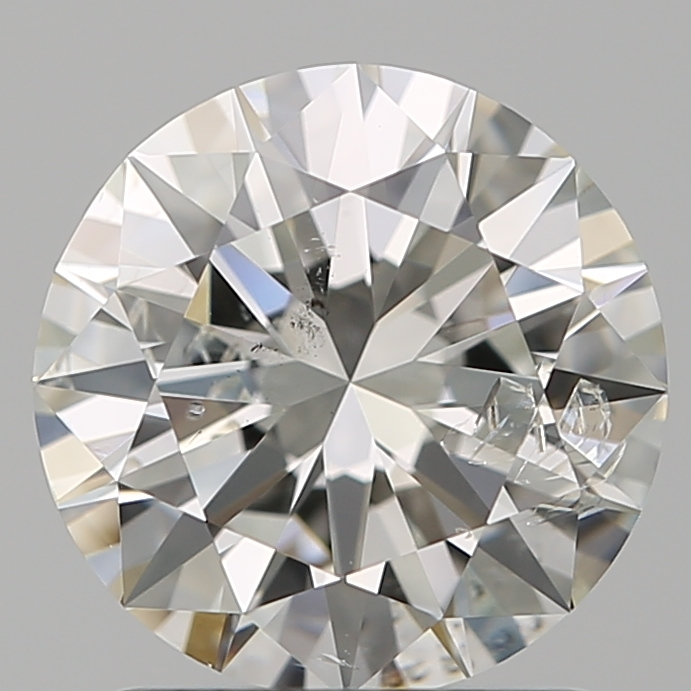 1.50 Carat Round Loose Diamond, I, I1, Ideal, GIA Certified