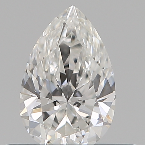 0.33 Carat Pear Loose Diamond, E, VVS2, Super Ideal, GIA Certified