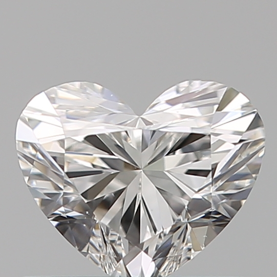 0.50 Carat Heart Loose Diamond, F, VS1, Super Ideal, GIA Certified | Thumbnail
