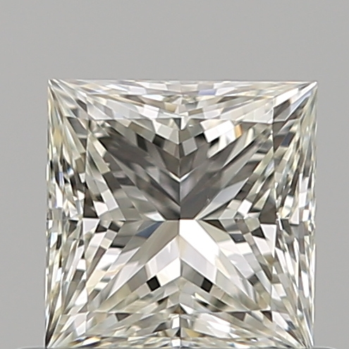 0.53 Carat Princess Loose Diamond, J, VS1, Super Ideal, GIA Certified | Thumbnail