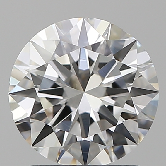 1.50 Carat Round Loose Diamond, F, VS1, Ideal, GIA Certified