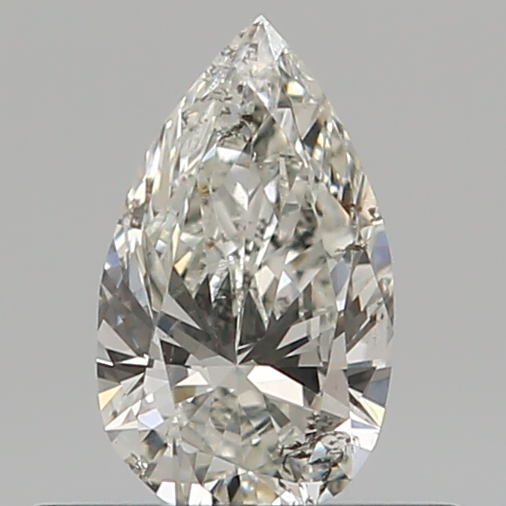 0.30 Carat Pear Loose Diamond, I, SI2, Excellent, GIA Certified