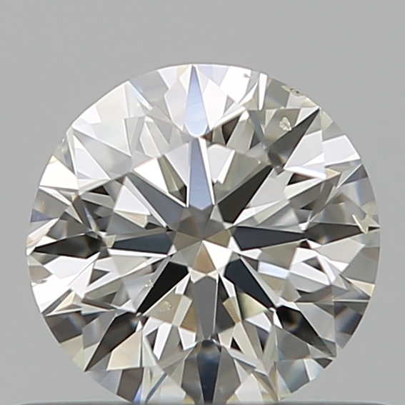 0.50 Carat Round Loose Diamond, I, SI1, Super Ideal, GIA Certified