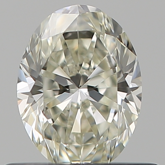 0.50 Carat Oval Loose Diamond, K, VS2, Ideal, GIA Certified