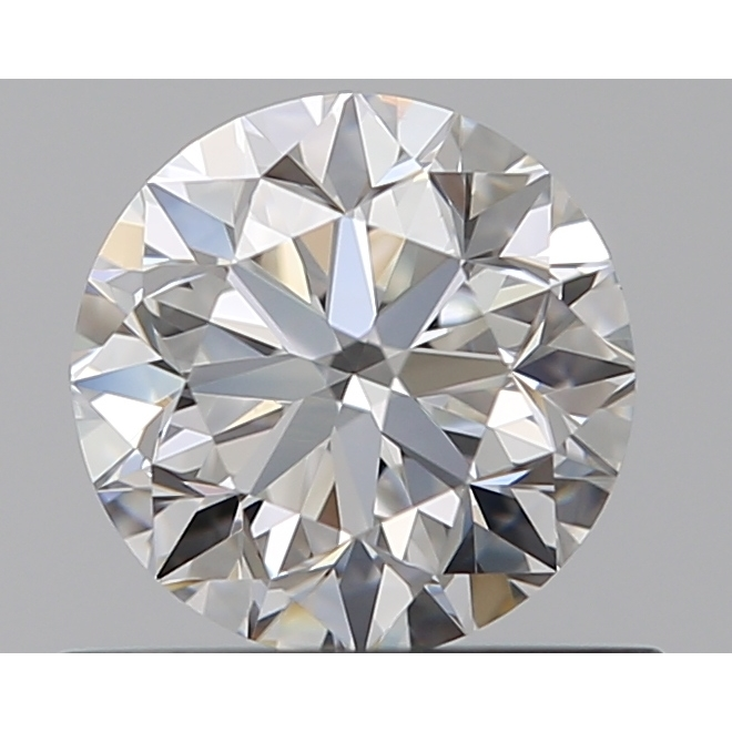 0.50 Carat Round Loose Diamond, F, VS1, Excellent, GIA Certified