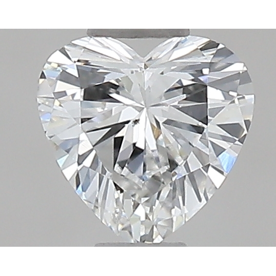0.32 Carat Heart Loose Diamond, G, VS2, Excellent, GIA Certified