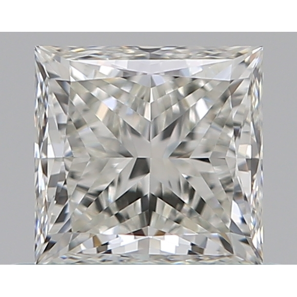 0.60 Carat Princess Loose Diamond, J, VVS1, Ideal, GIA Certified