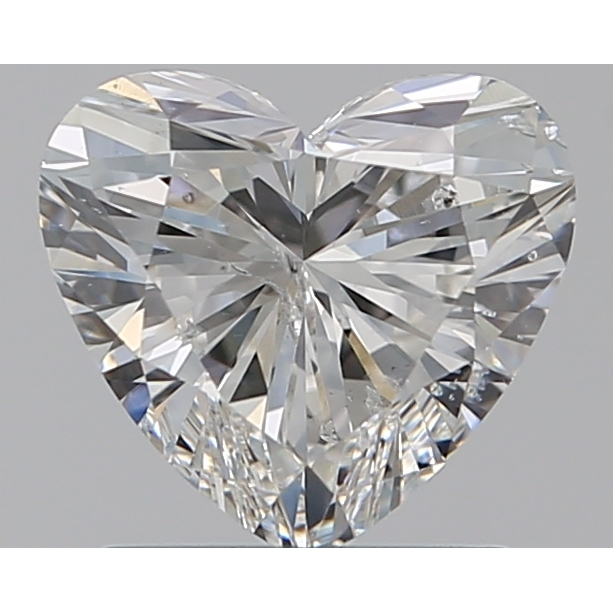 1.09 Carat Heart Loose Diamond, G, I1, Super Ideal, GIA Certified | Thumbnail