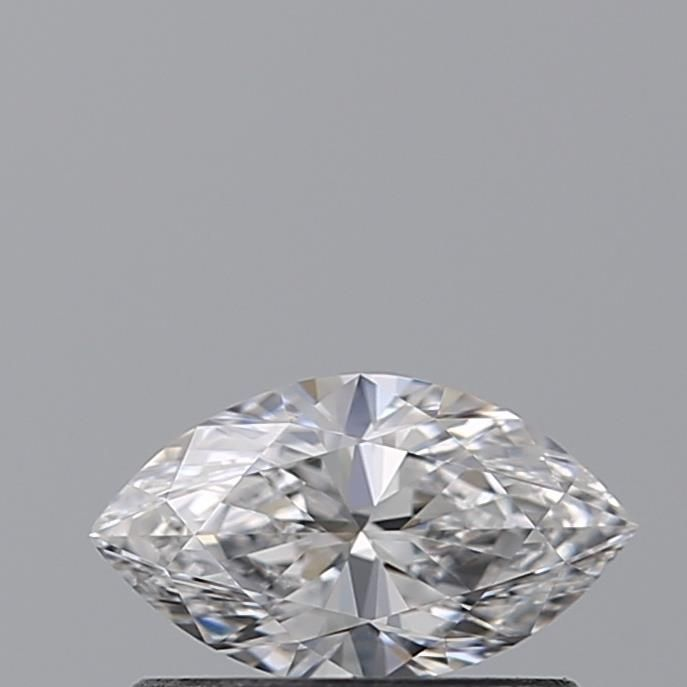0.40 Carat Marquise Loose Diamond, D, VVS1, Ideal, GIA Certified