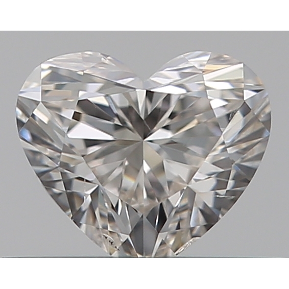 0.31 Carat Heart Loose Diamond, I, SI1, Super Ideal, GIA Certified | Thumbnail