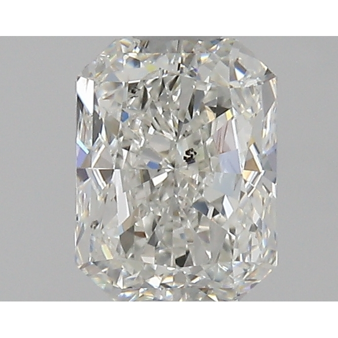 1.00 Carat Radiant Loose Diamond, H, SI2, Excellent, GIA Certified