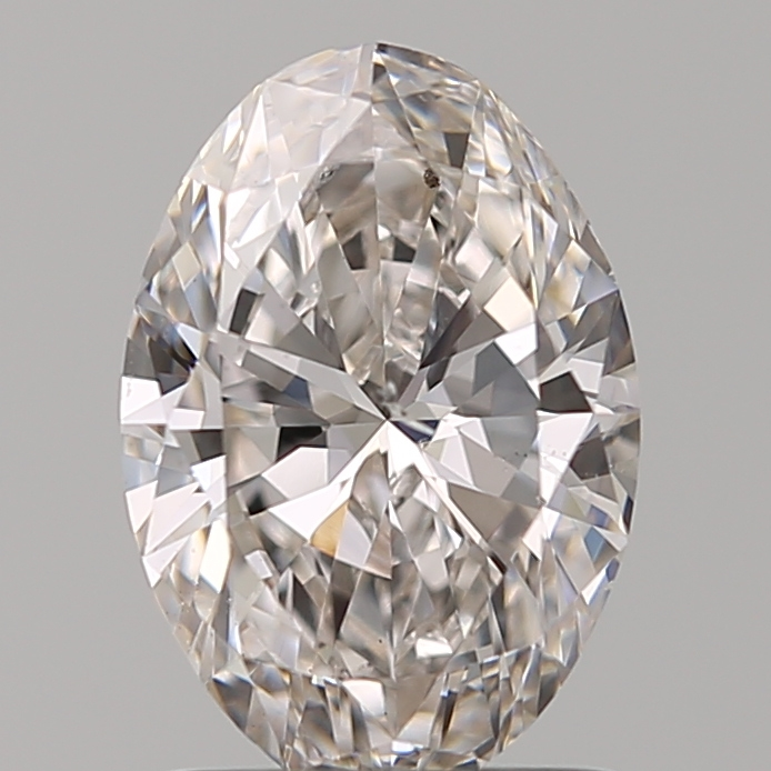 1.20 Carat Oval Loose Diamond, H, SI2, Super Ideal, GIA Certified