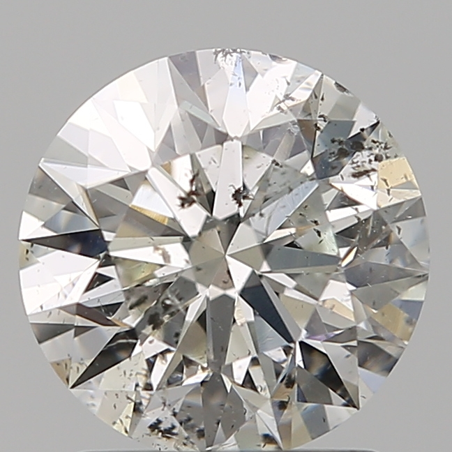 1.50 Carat Round Loose Diamond, H, SI2, Ideal, GIA Certified