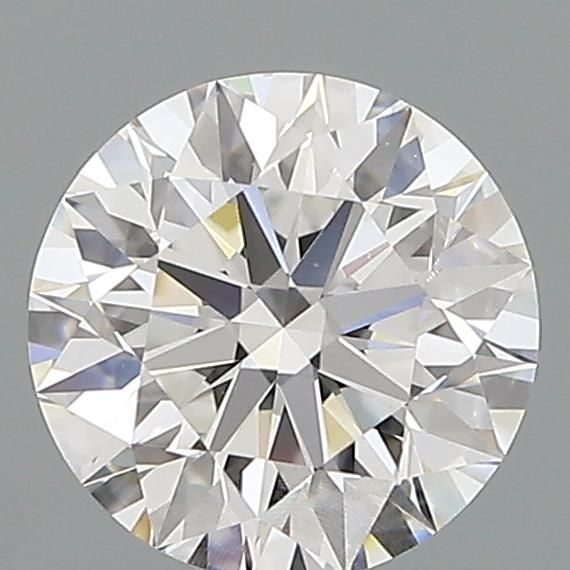 0.84 Carat Round Loose Diamond, E, VS1, Super Ideal, GIA Certified